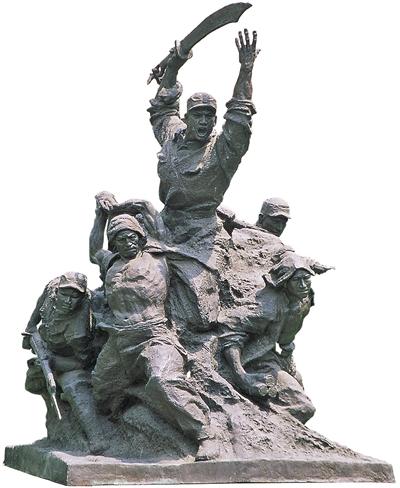 抗战美术经典:铭刻记忆 树起丰碑