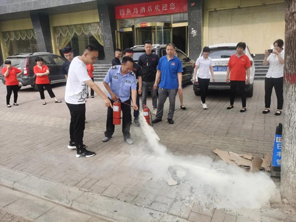 南阳消防支队圆满完成2021高考消防安保