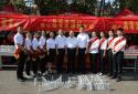 助力高考,河南太康一爱心企业5年捐赠300余顶遮阳棚