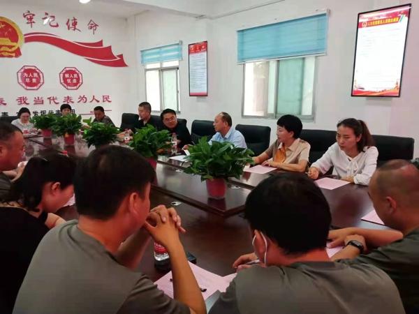 汝南县金铺镇人大开展政法队伍教育整顿评议