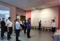 洛阳市政府驻郑州办事处组织党员干部到省档案馆开展党史主题教育