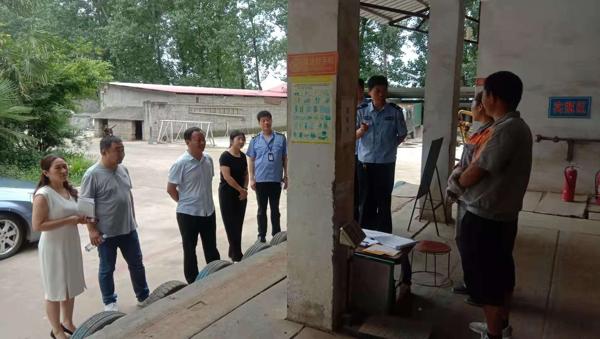 汝南县留盆镇迅速开展安全生产隐患大排查