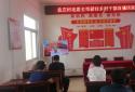 汝南县罗店镇组织收看新任乡村干部直播培训