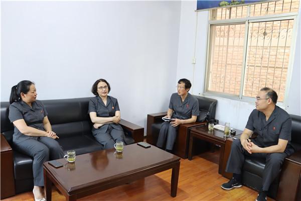 南阳宛城区法院党组书记、代院长赵曙君到基层法庭调研