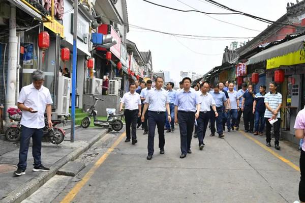 南阳各级党政领导带队督导检查消防工作