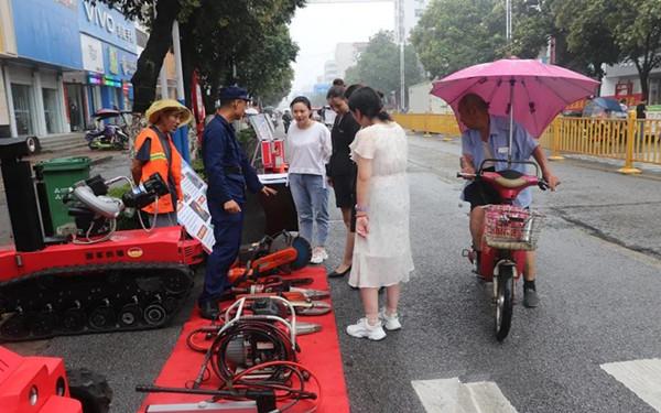 南阳消防支队多形式开展消防宣传活动