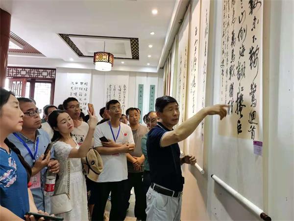 庆祝建党百年 河南省中小学书法教育教师优秀作品展在中国翰园碑林开幕