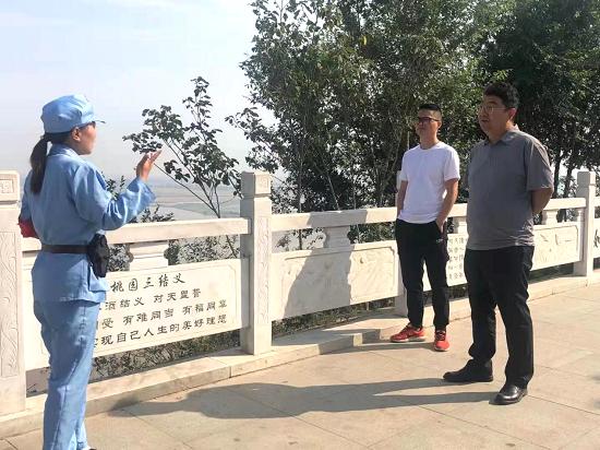 郑州市新联会赴黄河党建苑红色基地参观学习