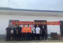 唐河桐寨铺镇:捐赠办公桌椅 助力乡村振兴