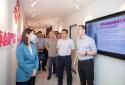 郑州市统计局局长郝伟一行到蜜雪冰城股份有限公司调研指导