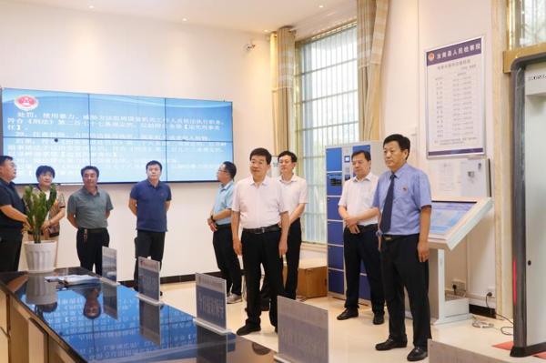 驻马店市人大常委会调研汝南县人民检察院控告申诉检察工作