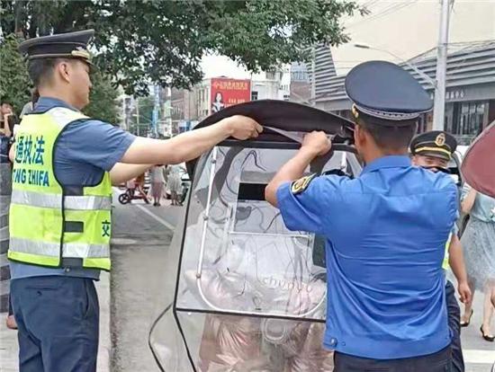 正阳县:开展联合执法 确保道路畅通