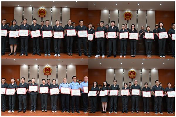 唐河县法院召开2021年上半年工作总结大会