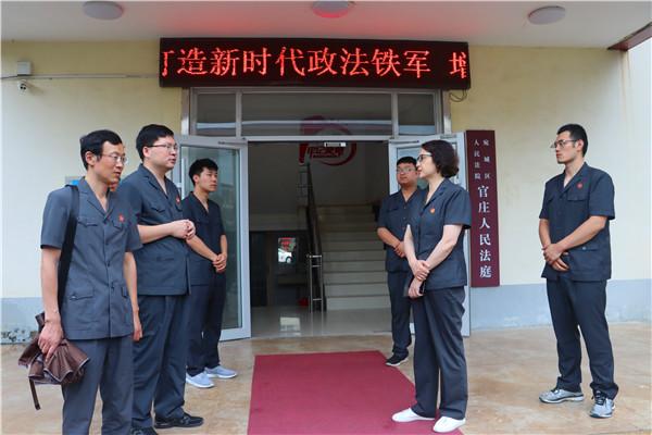 南阳宛城法院党组书记、代院长赵曙君深入基层调研诉源治理工作