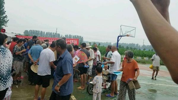 汝南县科技志愿者开展学党史、下基层、为群众办实事活动