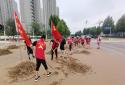 洪水肆虐 郑州高新区石佛办事处党员干部逆流而上开展救援