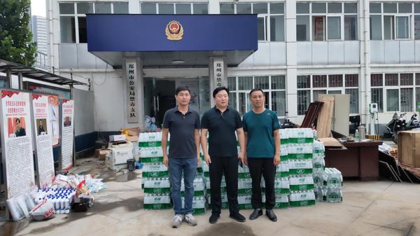 郑州高新区灾后重建,浩创在行动