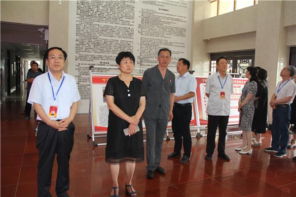宁陵县人大常委会领导到县法院调研队伍教育整顿工作