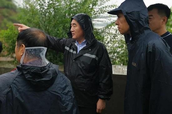 杨福平到登封市指导防汛救灾工作