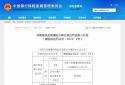 中国人民健康保险股份有限公司濮阳中心支公司因临时负责人超期被警告并罚款1万元