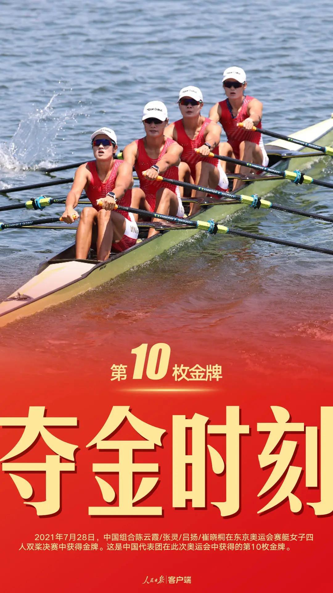 """第10金!中国""""艇""""牛!"""