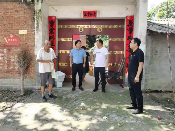 汝南县金铺镇慰问优秀退役军人抗美援朝老兵