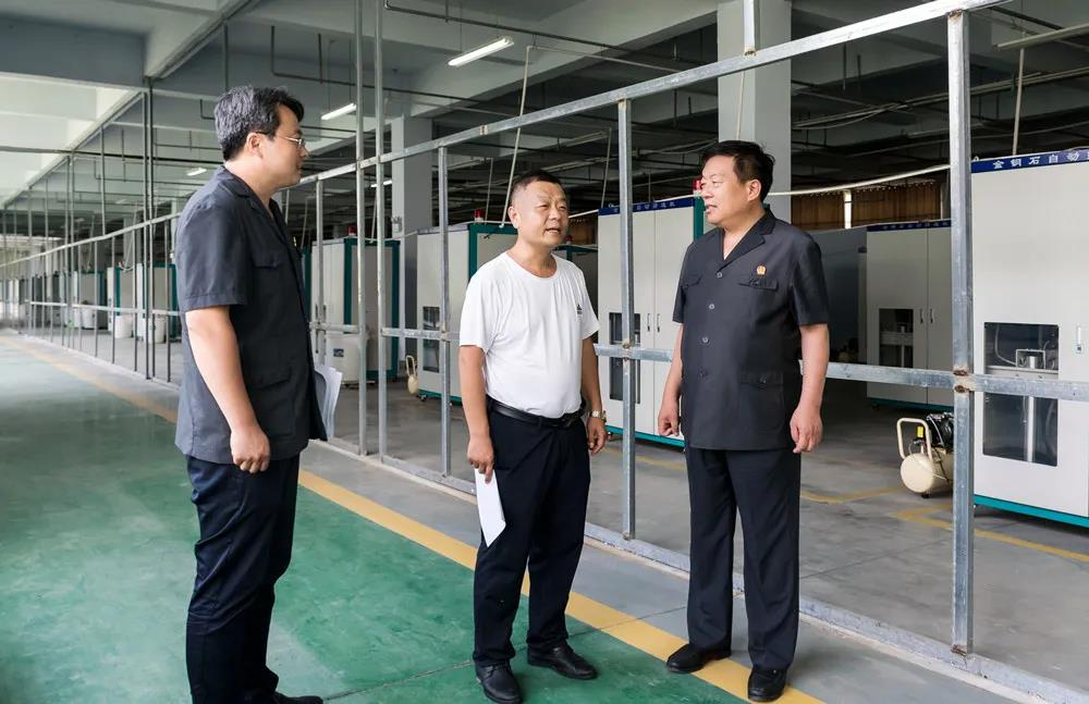 柘城县法院院长深入企业摸实情 解难题 促发展