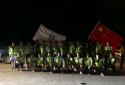 洪水无情 人间有爱――中建二局驻马店省道项目部党员青年突击队在行动