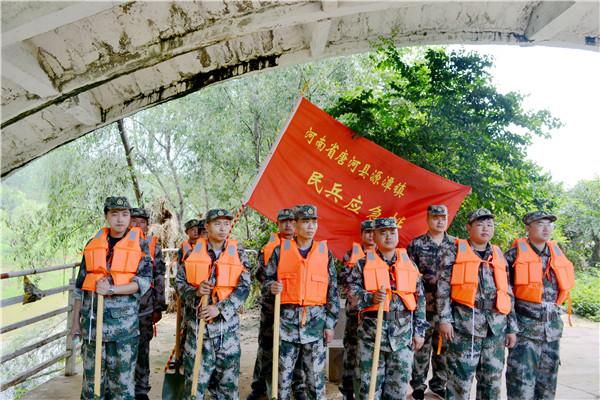 唐河县源潭镇:打造过硬防汛队伍 砥砺初心护卫人民