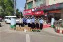 河南新野:爱心企业慰问交警大队一线执勤民辅警