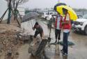 郑州高新区石佛办事处陈庄村:全力以赴 迎接新一轮暴风雨防御战