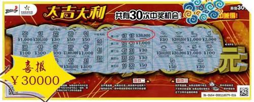 """""""大吉大利""""带来好运 南阳小伙喜中3万元大奖"""