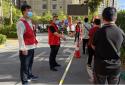 郑州高新区石佛办事处五龙口村精准高效有序开展第五次核酸检测