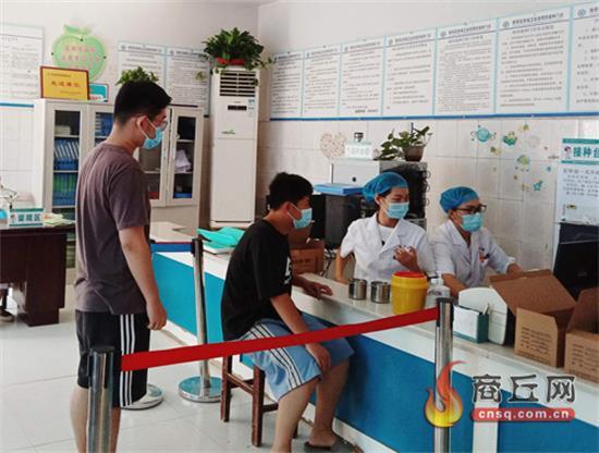 睢阳区积极推进12岁以上青少年新冠疫苗接种工作