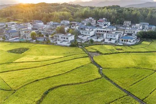 鲁山:美丽乡村多姿多彩