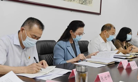 郑州市委统战部专题学习讨论市委工作会议精神