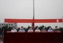 商丘市第四高级中学举行高一新生军训开训仪式