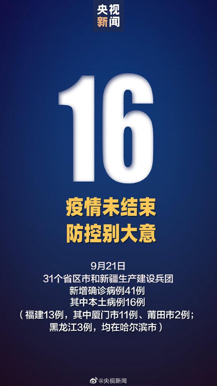 31省区市新增本土确诊16例 河南昨日无新增