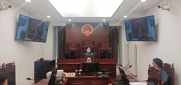 """睢阳区法院院长""""云上法庭""""审理四起侵害商标权纠纷案"""