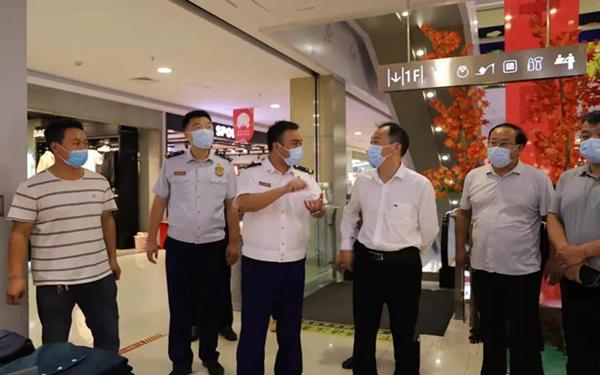 """南阳消防支队""""三个结合""""全力营造""""国庆节""""消防安全浓厚氛围"""