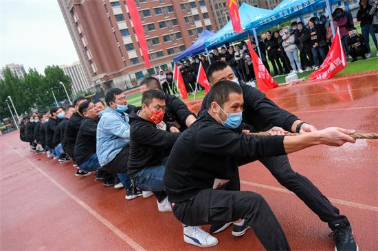 方一坤集团党支部举办第四届秋季趣味运动会