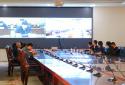 商丘学院组织观看全省教育系统全面从严治党视频工作会议
