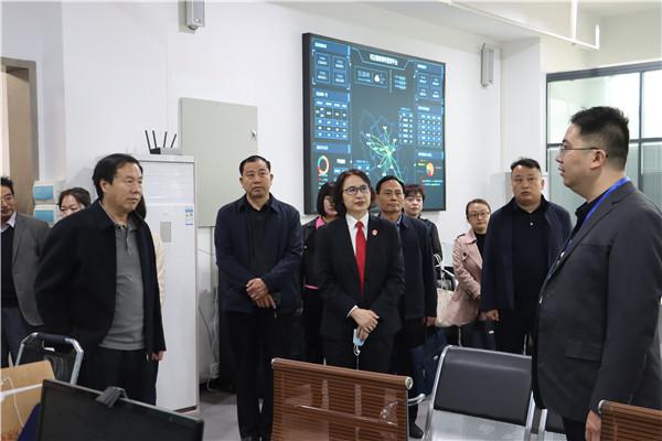 南阳宛城区人大常委会党组书记、主任李培彦到区法院视察调研执行工作