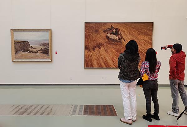 文旅部主办黄河文化主题美术作品展