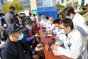 """商丘市第一人民医院举行""""世界血栓日""""宣传义诊活动"""