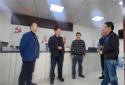 南阳卧龙区委常委、政法委书记李会中到安皋镇走访调研